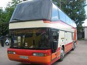 Пассажирские перевозки автобусом Неоплан 117 Киев и Украина