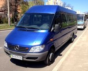Пассажирские перевозки автобусами различной комфортности и вместимости