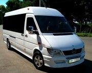 Аренда микроавтобуса для небольших группу,  пассажирские перевозки.