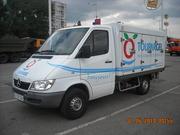 услуги развозчика мороженого (полуфабрикатов).